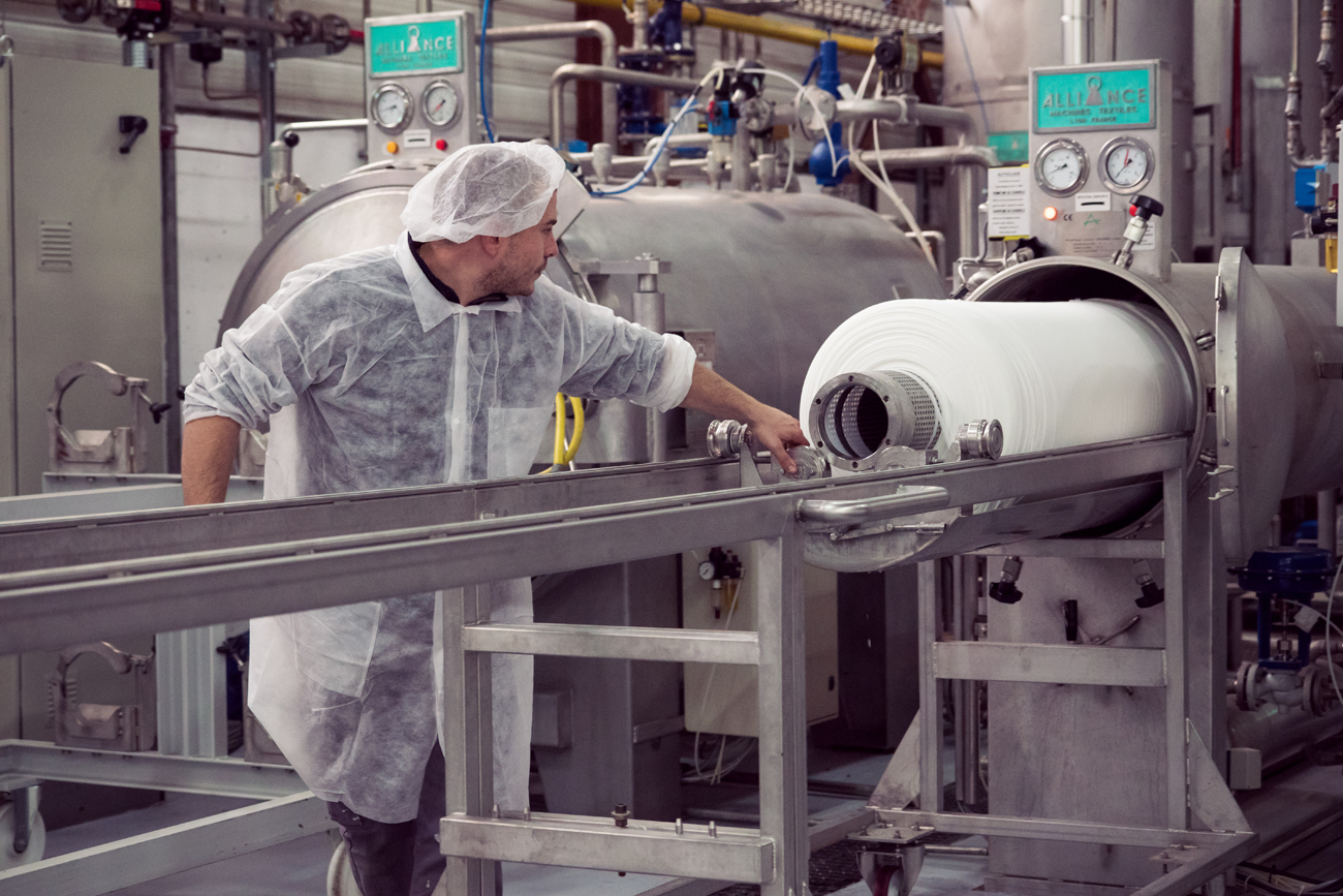 Texinov Autoclave Nettoyage Textile