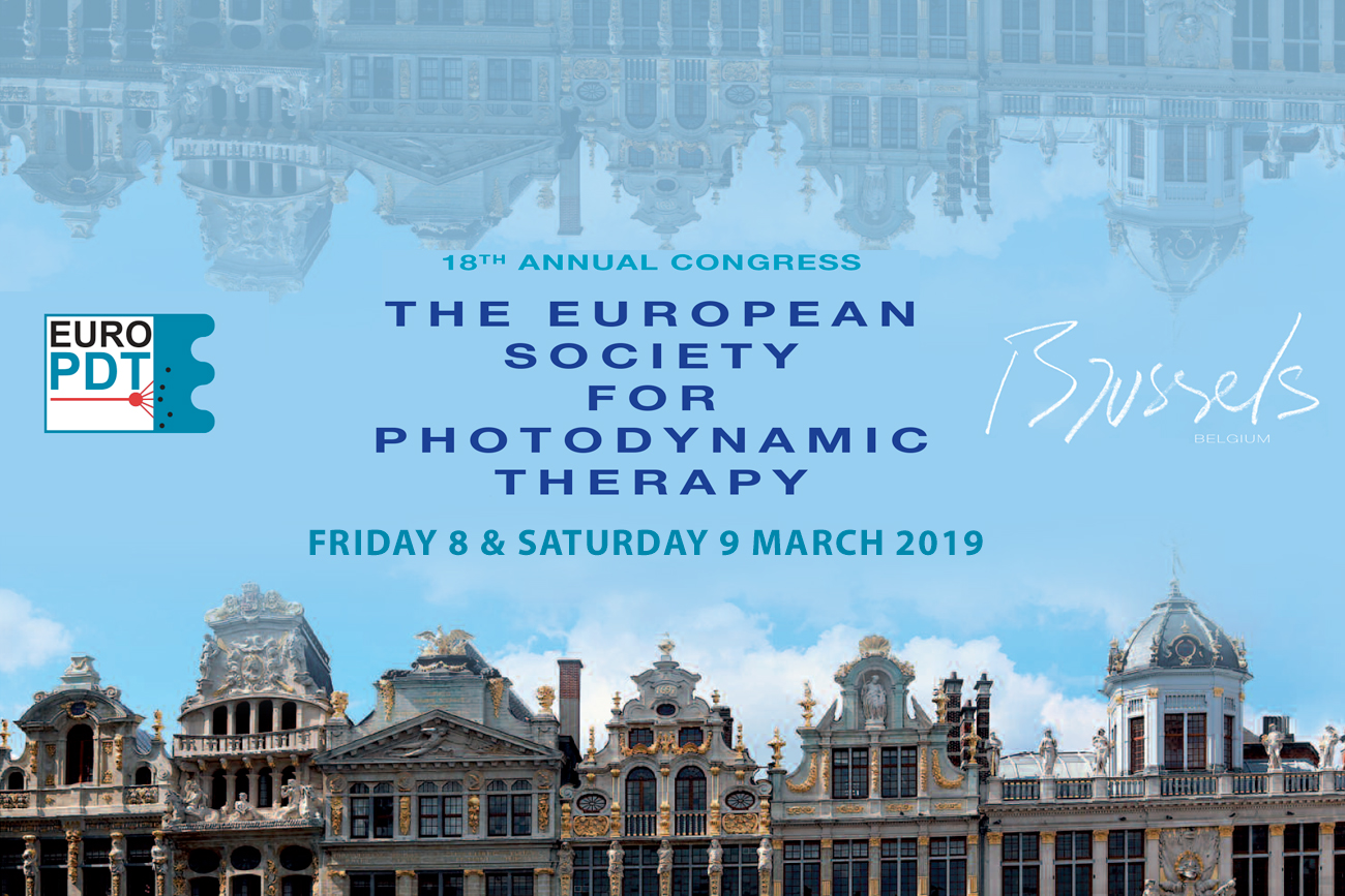 18th Annual Congress of the European Society for Photodynamic Therapy