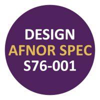 Design Afnor Spec S76-001