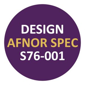 Design Afnor Spec S76-001