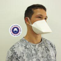 Teximasque 30 lavages - Masque Grand Public Filtration >90%