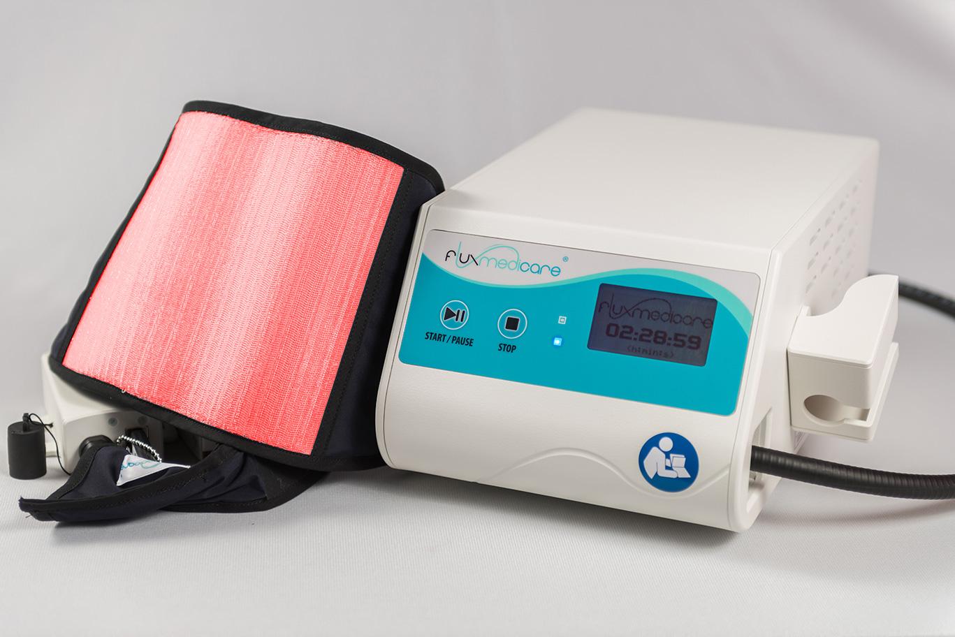 Photothérapie dynamique - Textile lumineux (lumière rouge)